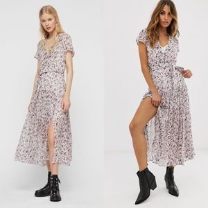 All Saints Alix Freefall Dress